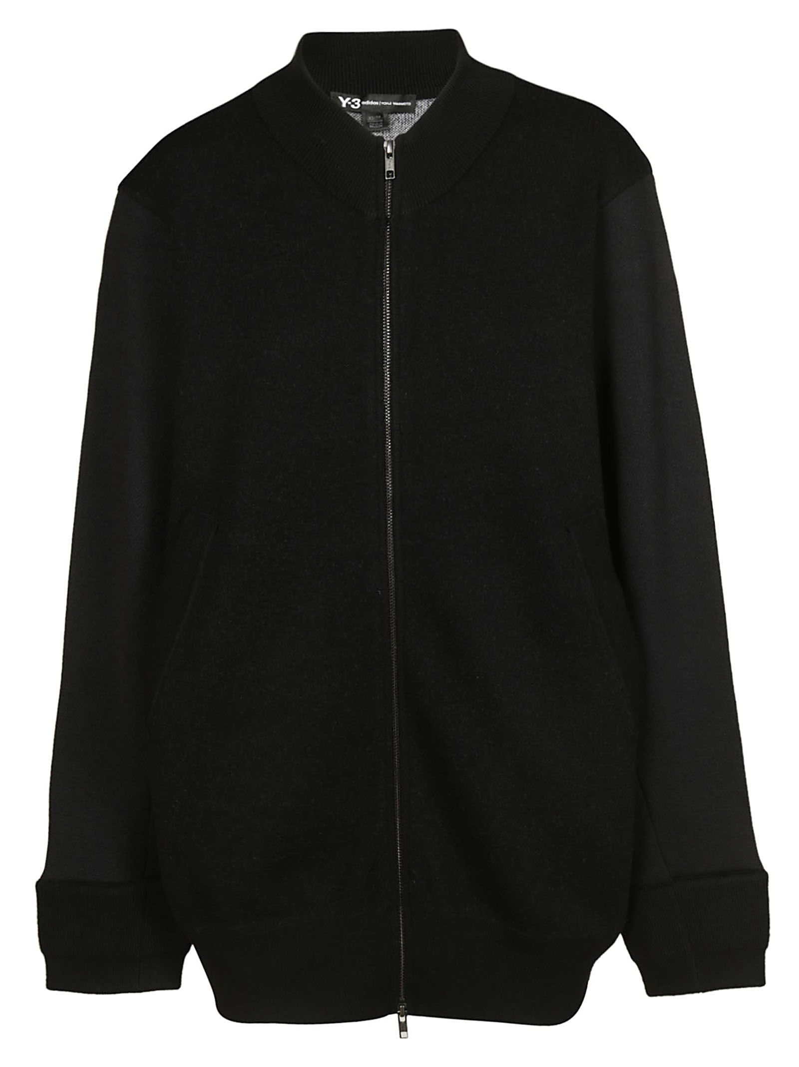 Y-3 ZIPPED SWEATER