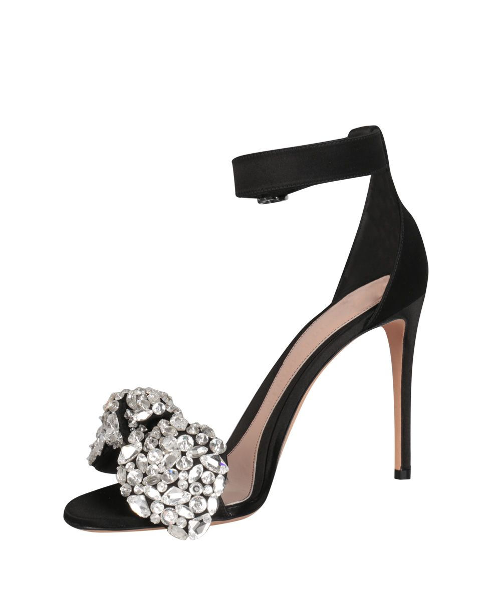Alexander McQueen Bow Embroidered Sandal 7rYpB3Q