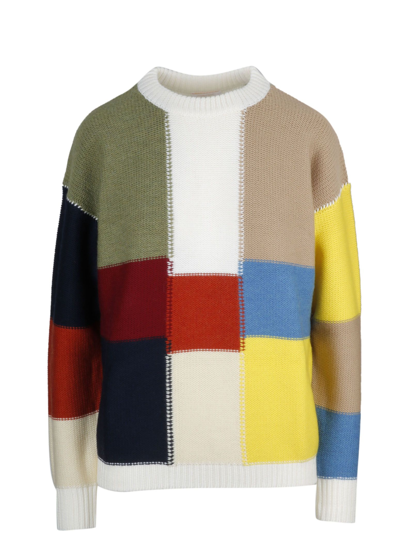 See By Chloé Patchwork -style Sweater