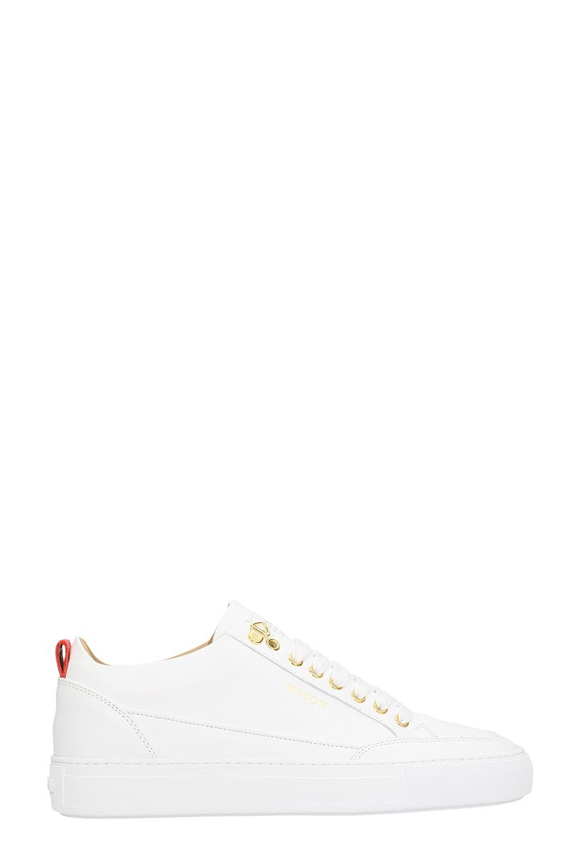 MASON GARMENTS White Leather Sneakers