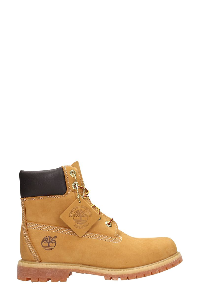 Classic Premium Wheat Nubuck Leather Boots in Leather Color