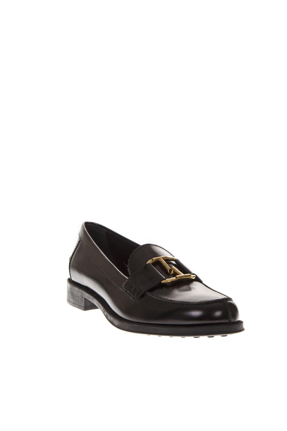 8b41176314e Tod s Black Leather Loafers - Black Tod s Black Leather Loafers ...