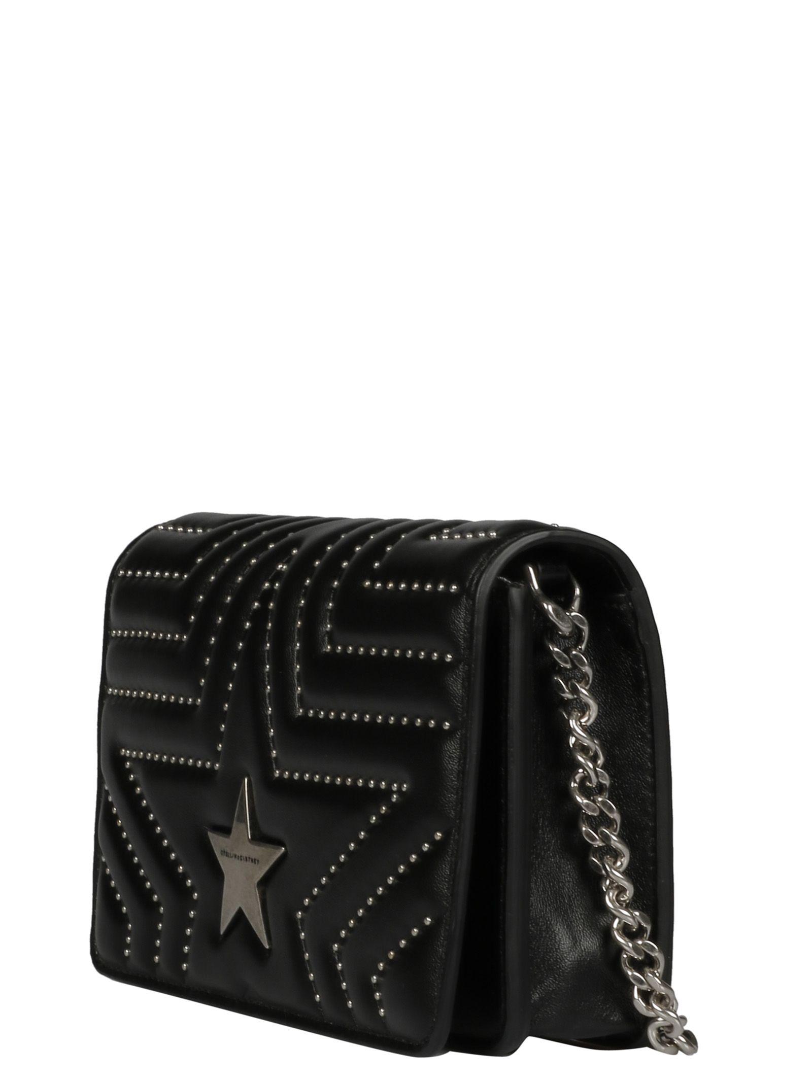 0a9a81019454 ... Stella McCartney Star Quilted Shoulder Bag - 1000 ...