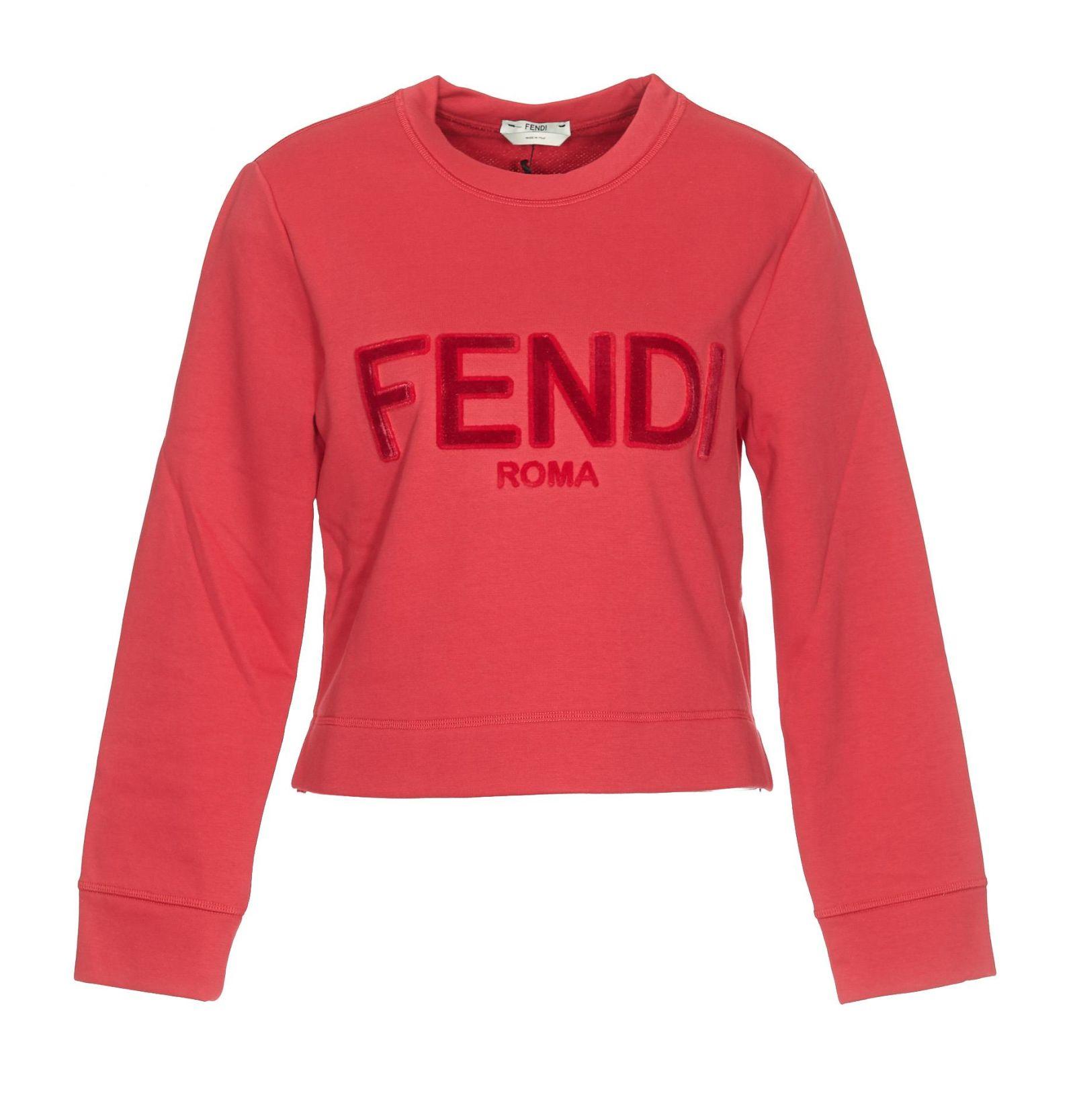 6d01319e2 italist   Best price in the market for Fendi Fendi Fendi Roma Sweatshirt -  Jelly -. Mens Fendi T Shirt Rrp £290 Designer ...
