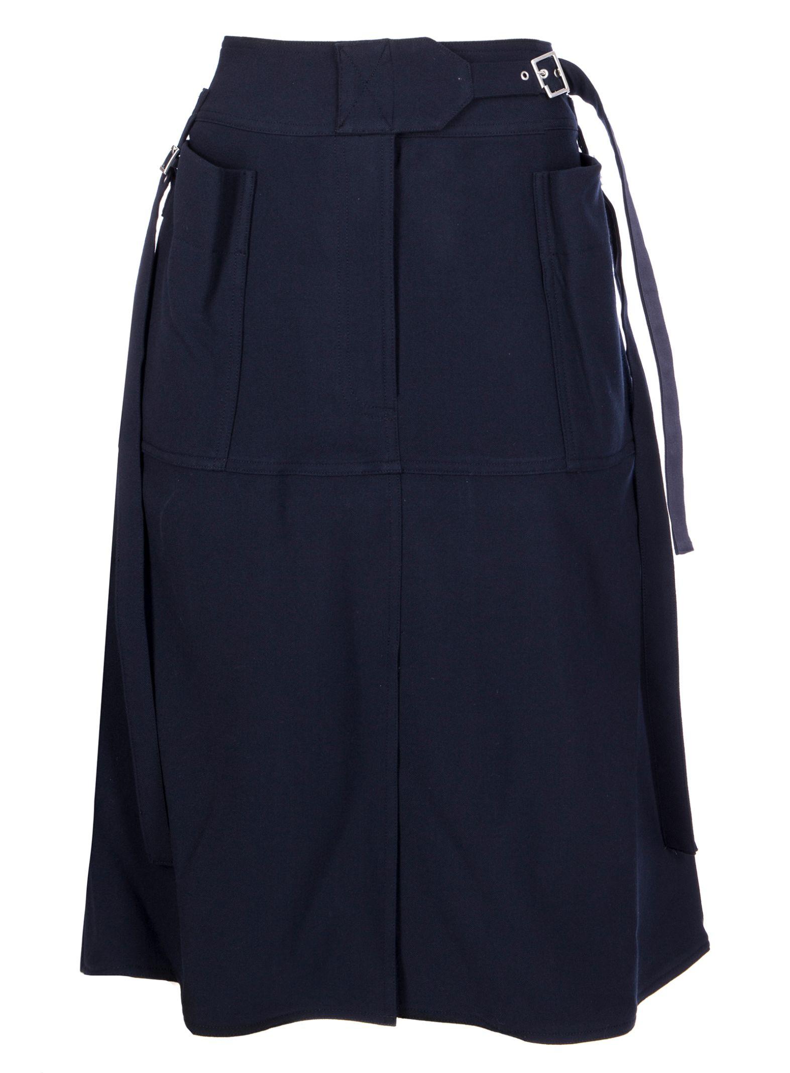 how to wear high waisted midi skirt