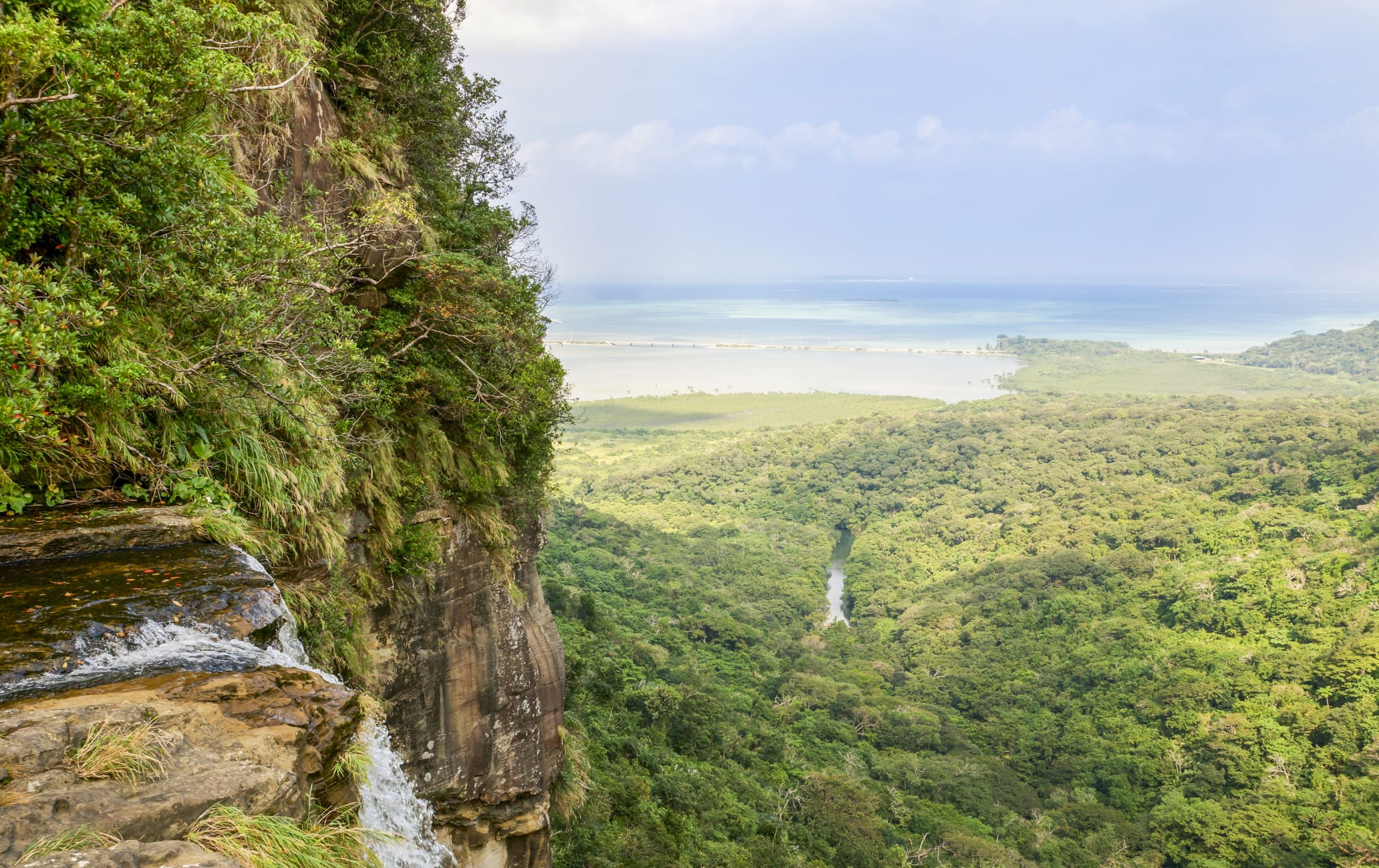 Iriomote Island Pinasaira Falls