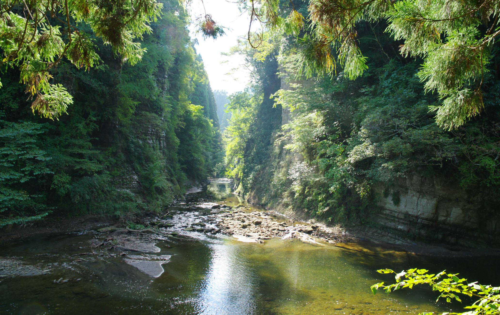 Yoro-keikoku Valley