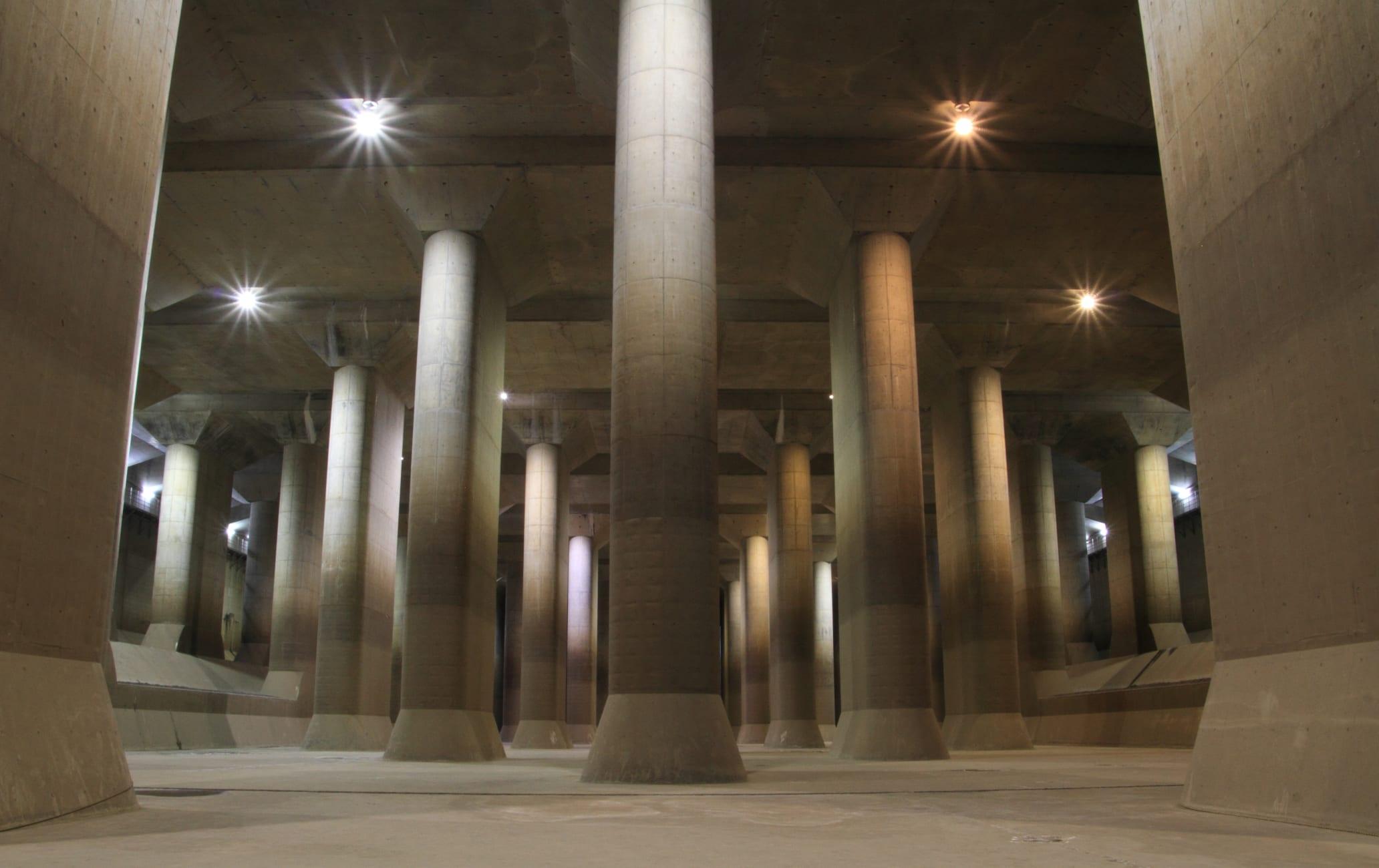 Kasukabe Underground Flood Protection Tank
