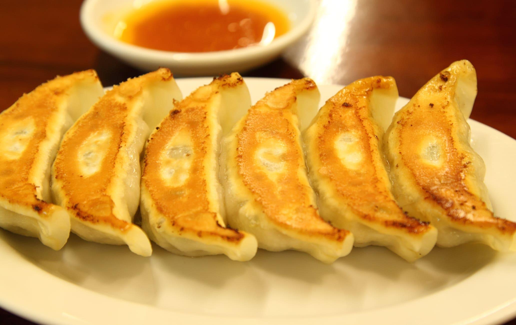 Gyoza dumpling shops