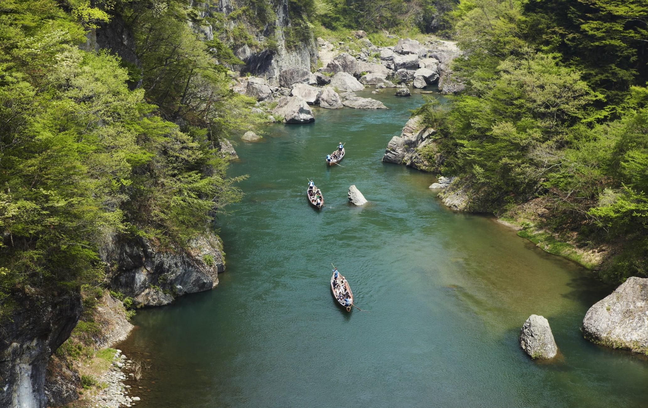Kinugawa River Cruise