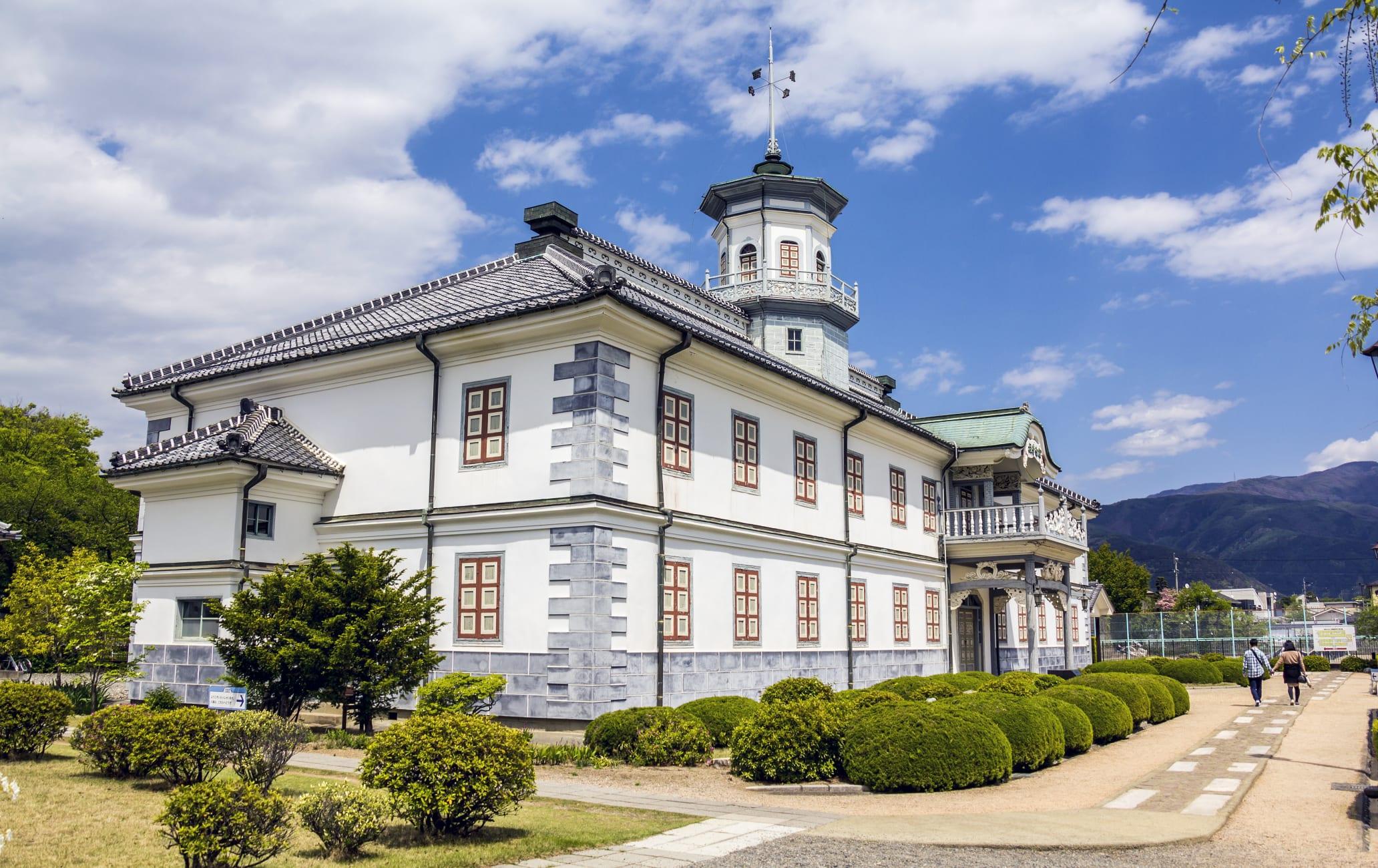 The Former Kaichi School building