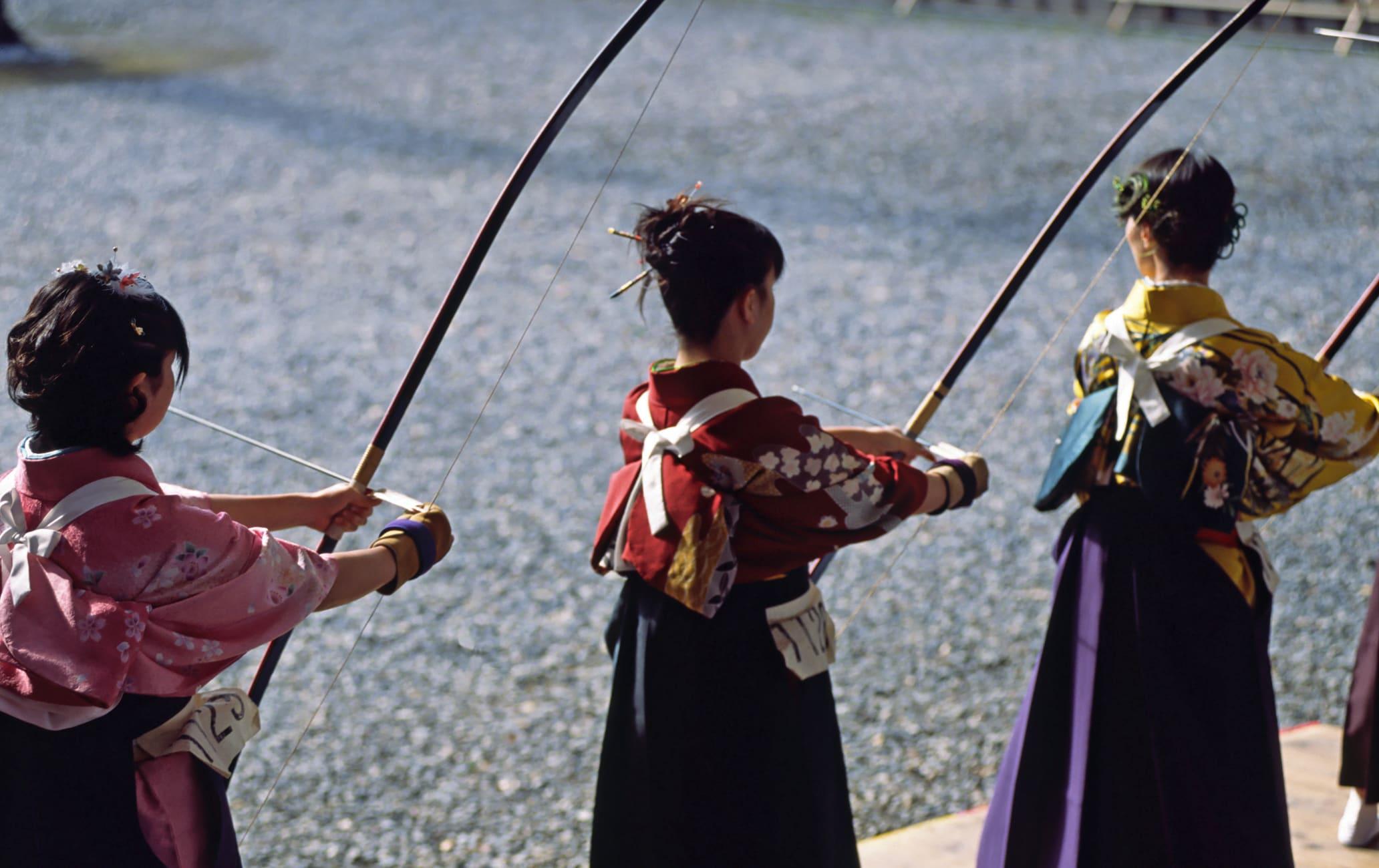 Toh-shiya-Archery Contest