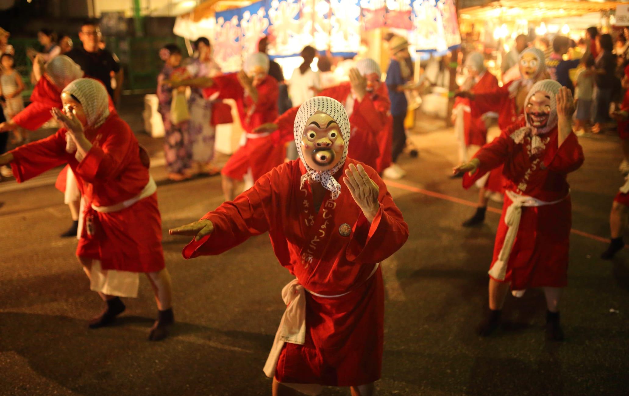 Hyuga Hyottoko Summer Festival