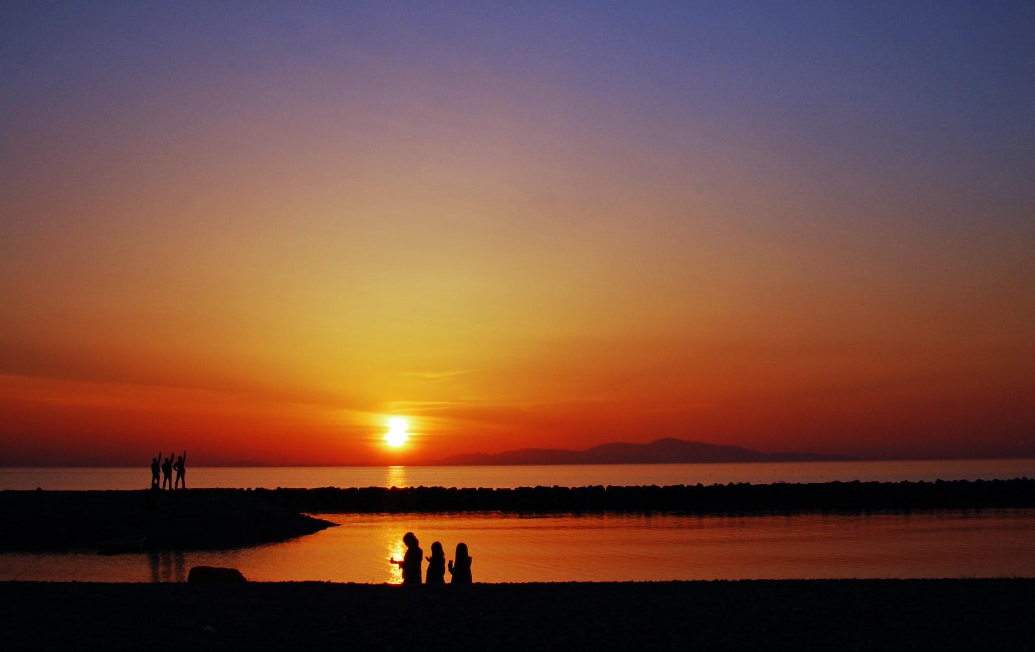 Goshiki-hama Beach