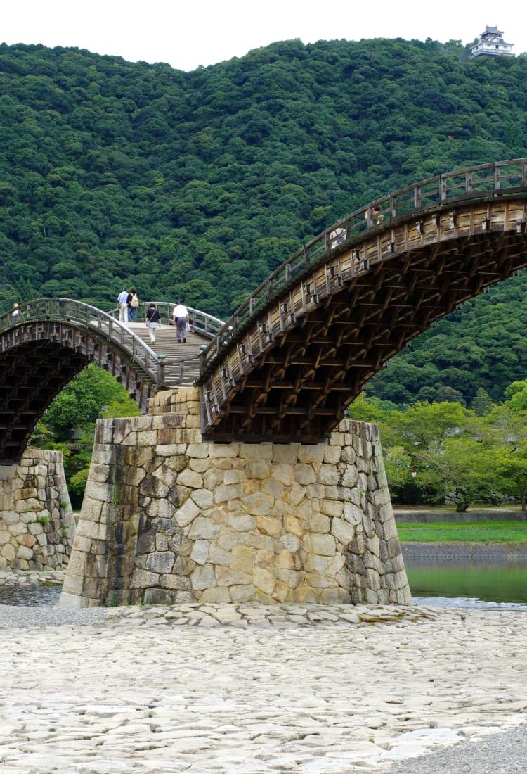 Around Kintai Bridge