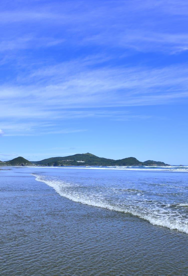 Okuragahama Beach