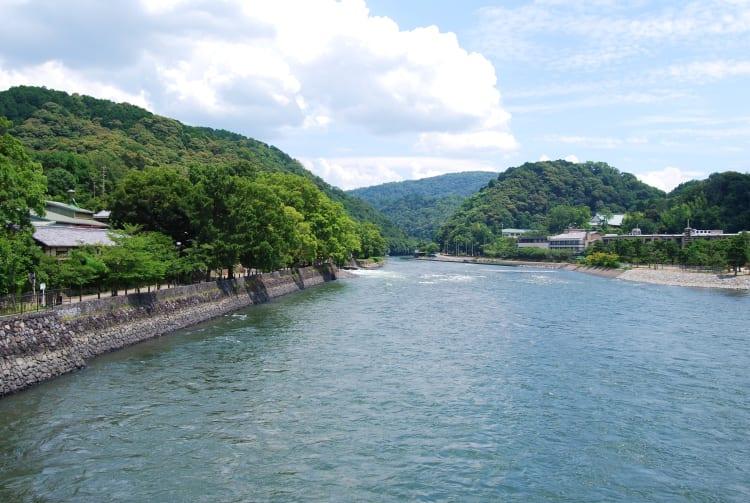 Uji River