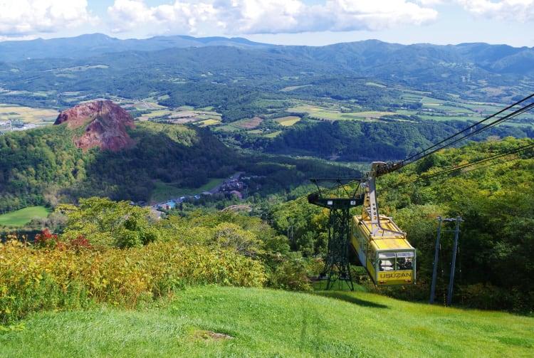 Mt Usu and Mt Showa-Shinzan
