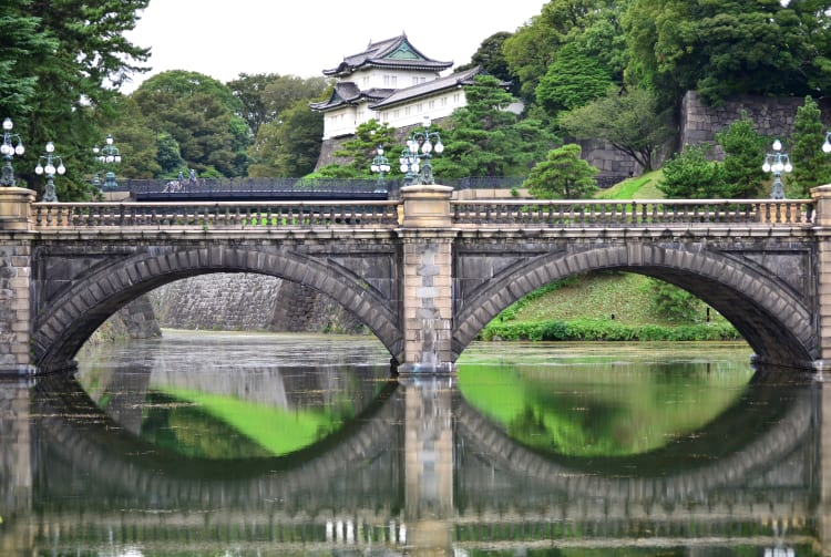 The Imperial Palace Area