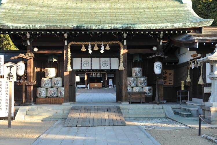 Saga-jinja Shrine