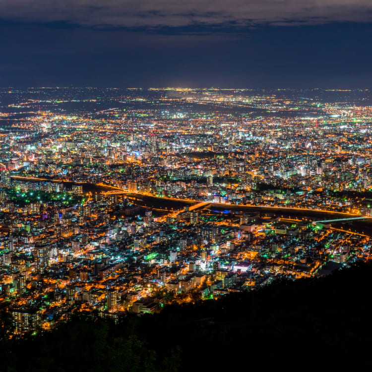 Night views from Mount Hakodate