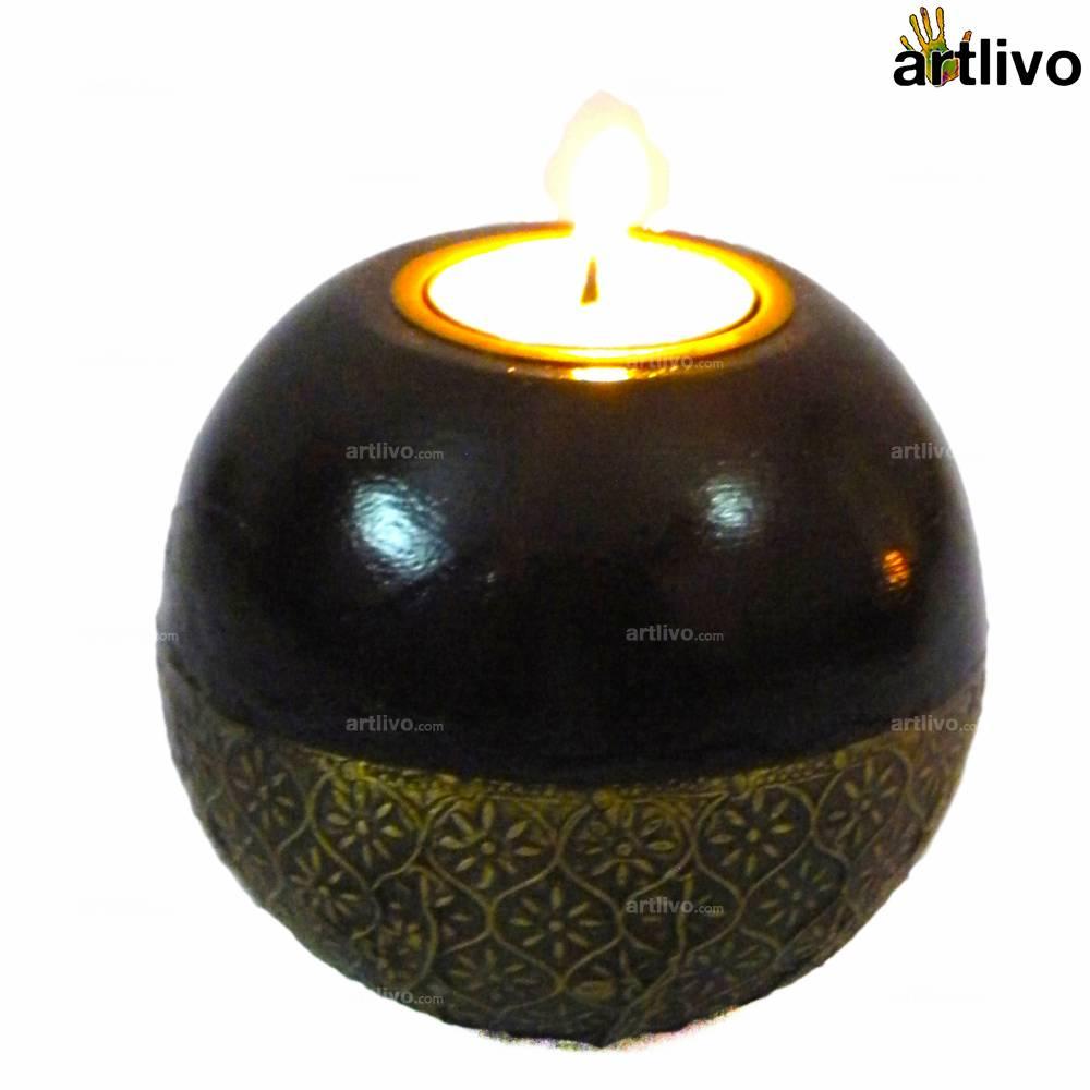 UBER ELEGANT Orb Candle Holder