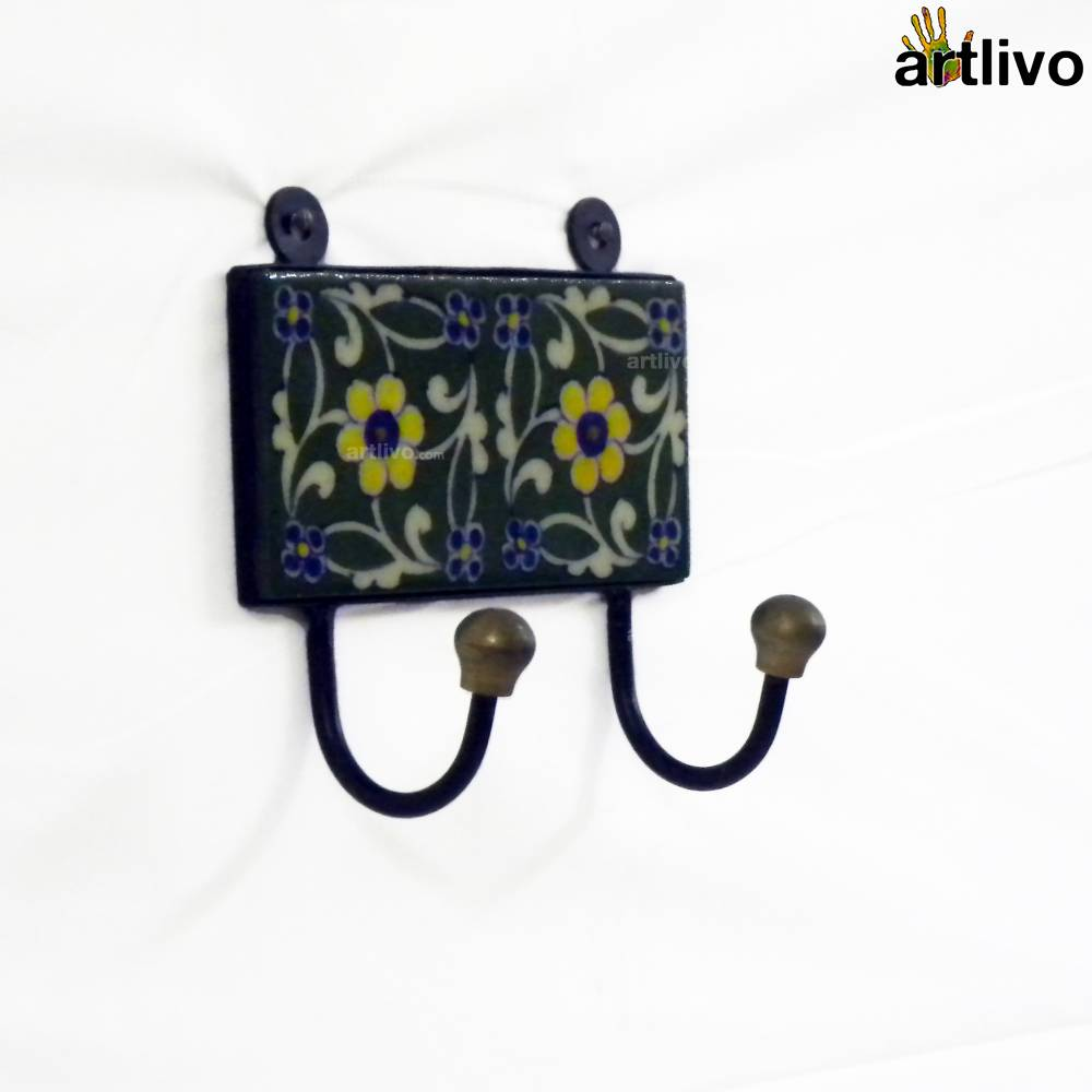 Twin Ceramic Hooks - Assorted