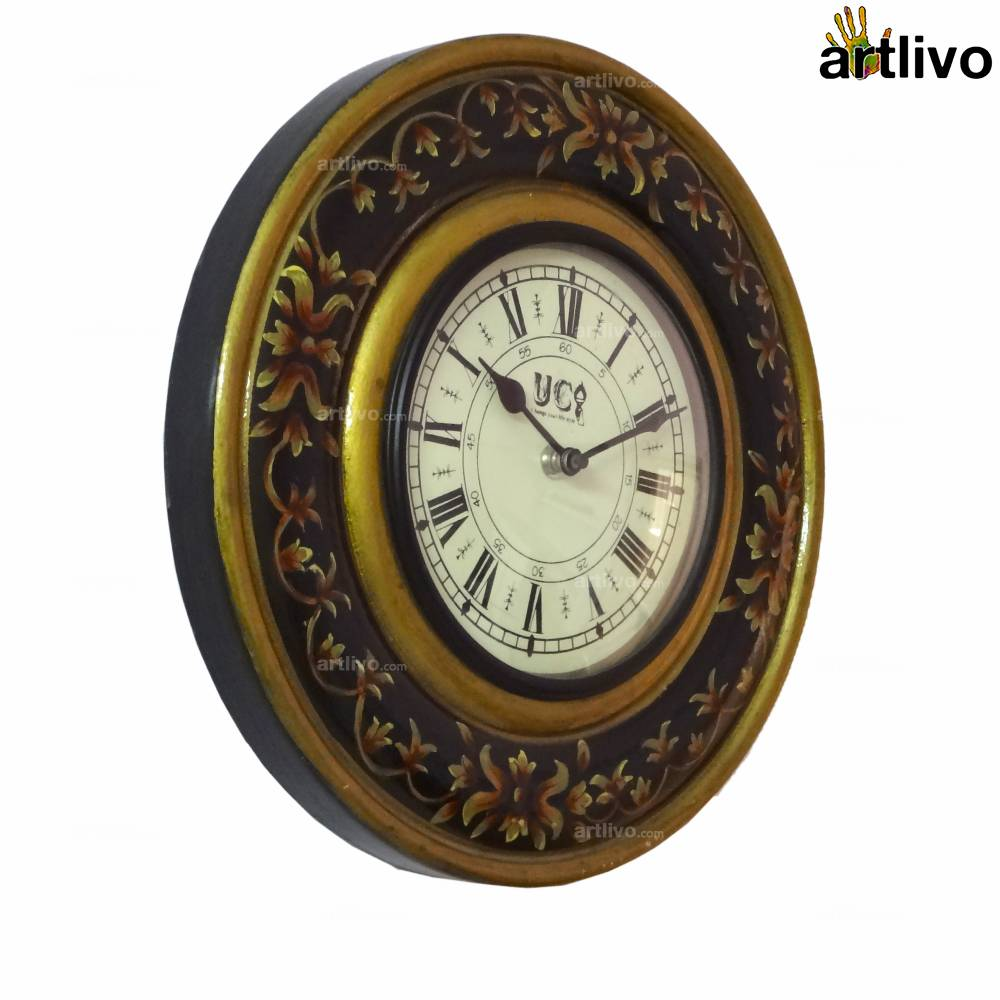 Painted Wall Clock - Small