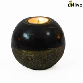 UBER ELEGANT Orb Candle Holder