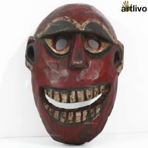 VINTAGE Tribal Cultural Mask - Human