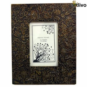 BLING Water Lily Photo Frame