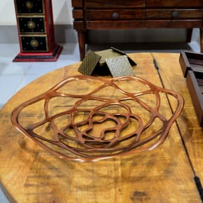 Fruit Basket Mesh Style Copper