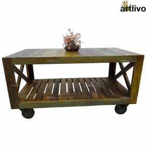 ECOLOG Rolling Coffee Table
