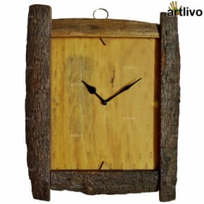 ECOLOG Rustic Wood Wall Clock - WC051