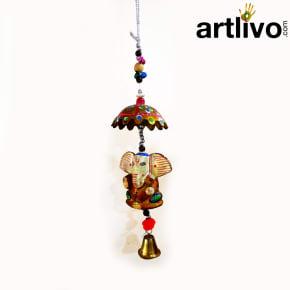 Ganesh Wall Hanging Bell
