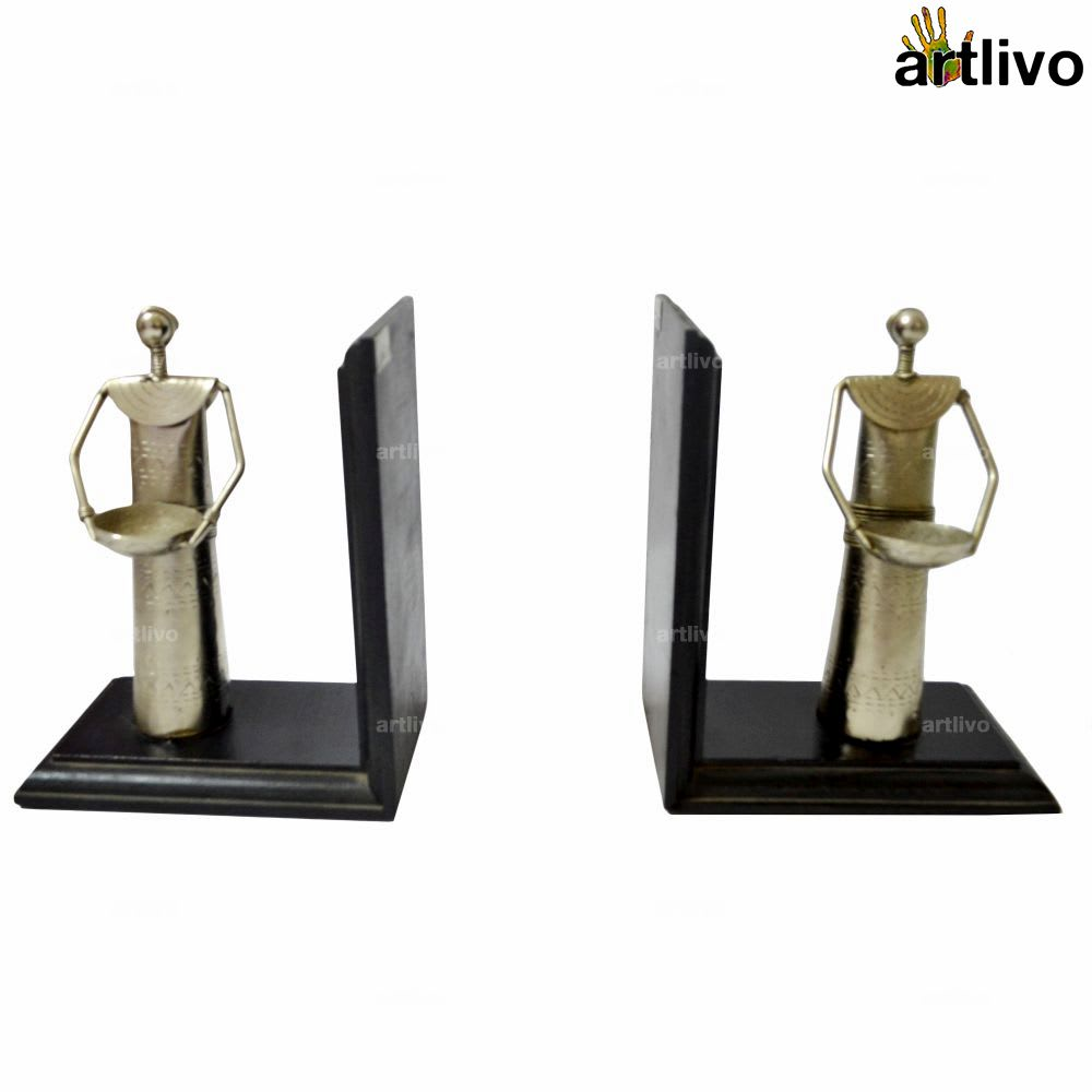 Ladies at work wooden Bookend