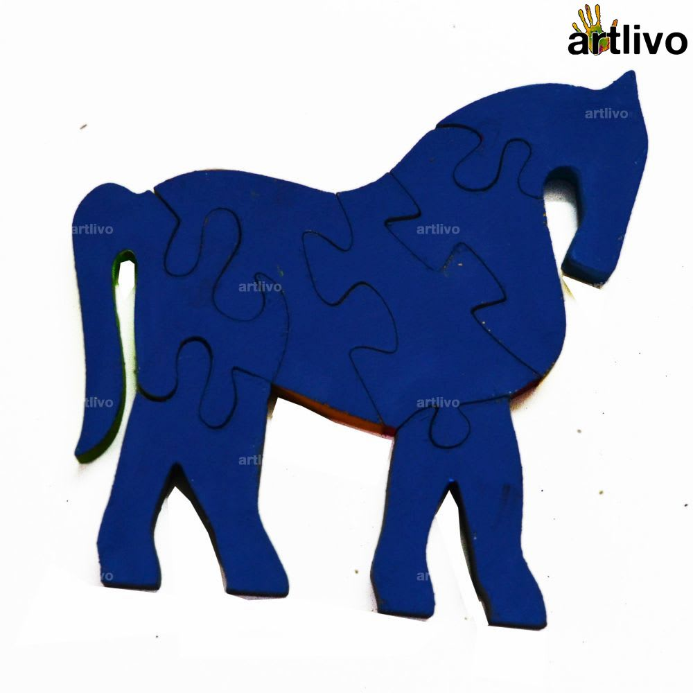 POPART Jigsaw - Loyal Horse