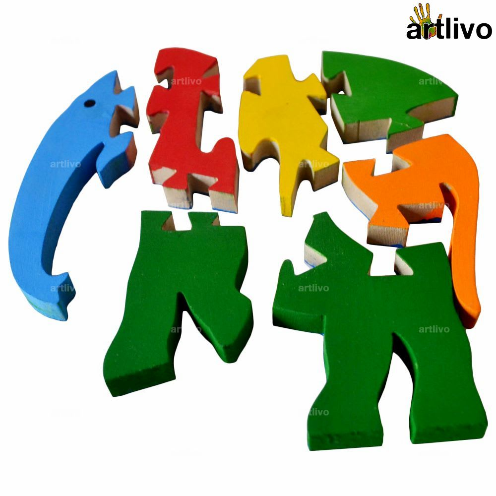 POPART Jigsaw - Elephant