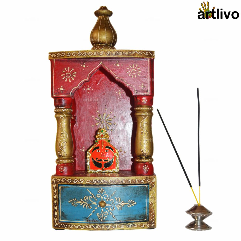 EMBOSSED Temple with Drawer - Small