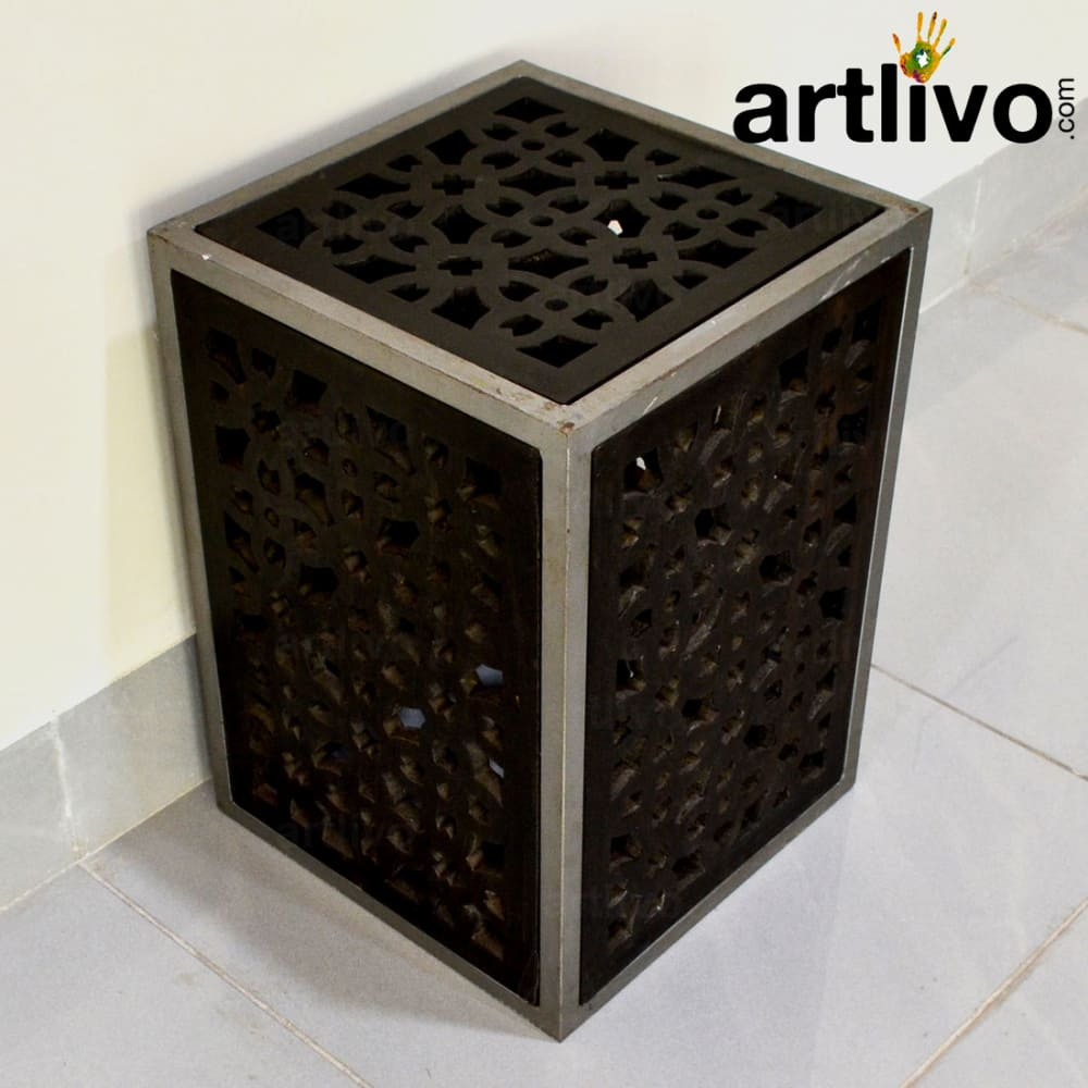 Wooden Gril Stool Large
