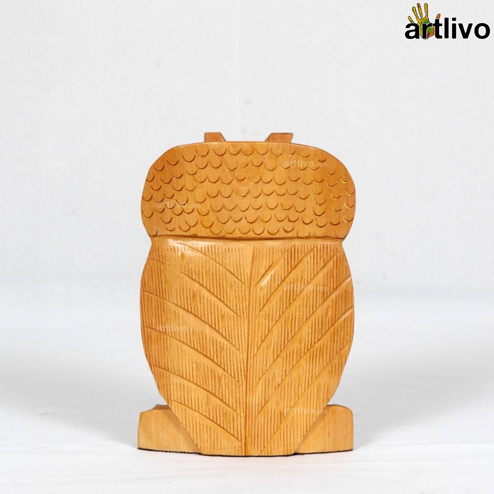 Beautifully Carved Owl - Small