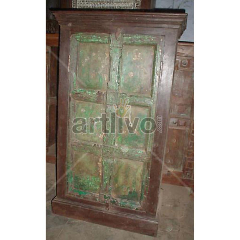 Antique Indian Sculptured aristocratic Solid Wooden Teak Almirah