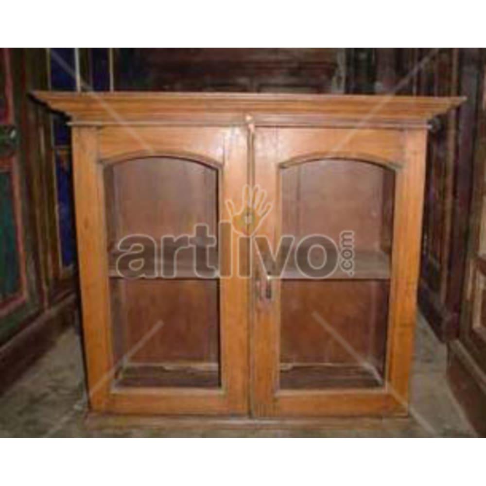 Antique Indian Beautiful Royal Solid Wooden Teak Almirah