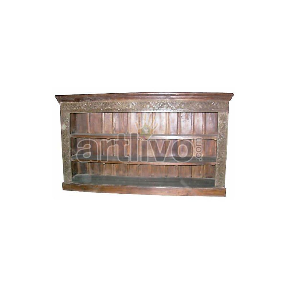 Old Indian Beautiful Splendid Solid Wooden Teak Sideboard