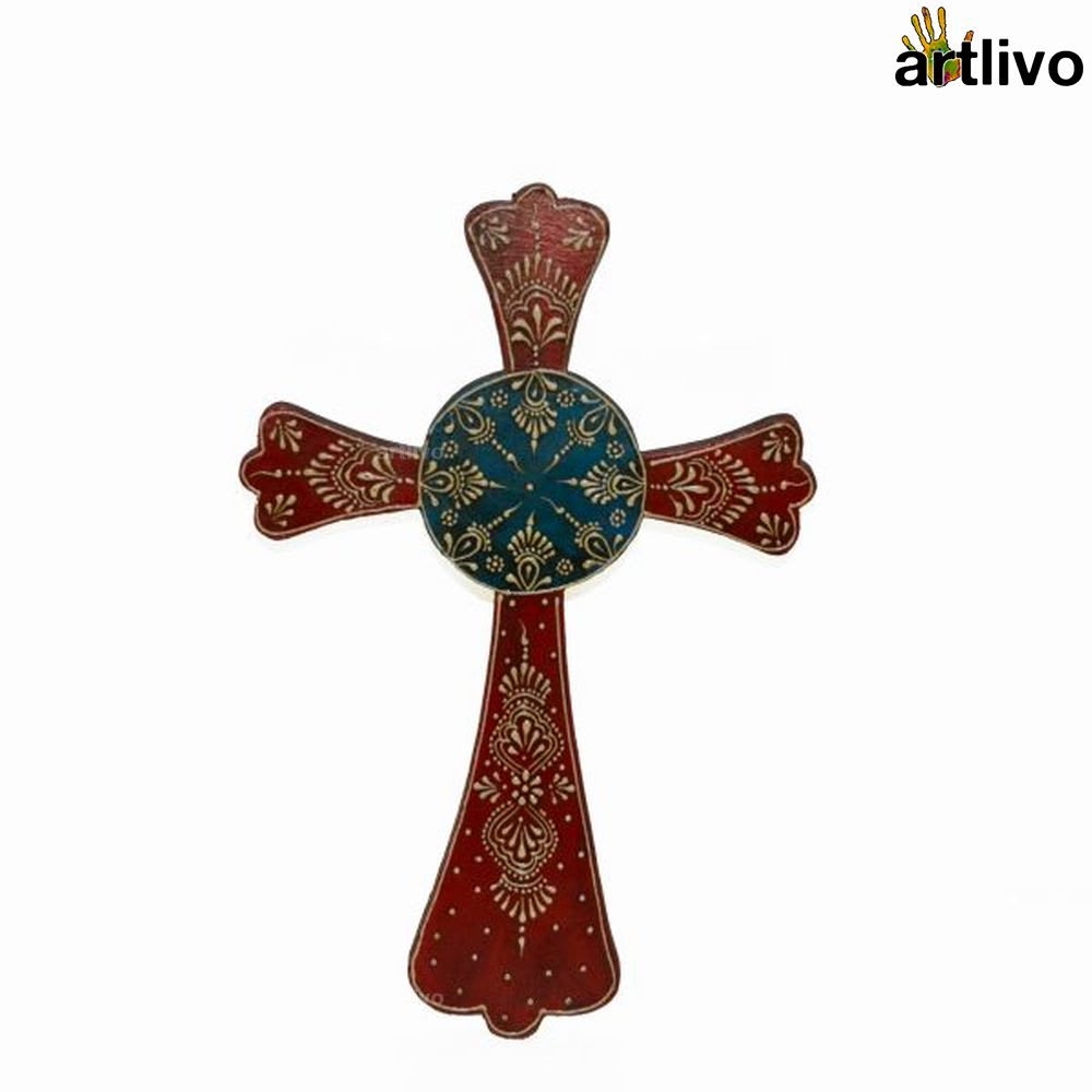 BOLD RED Wall Hung Cross 2014
