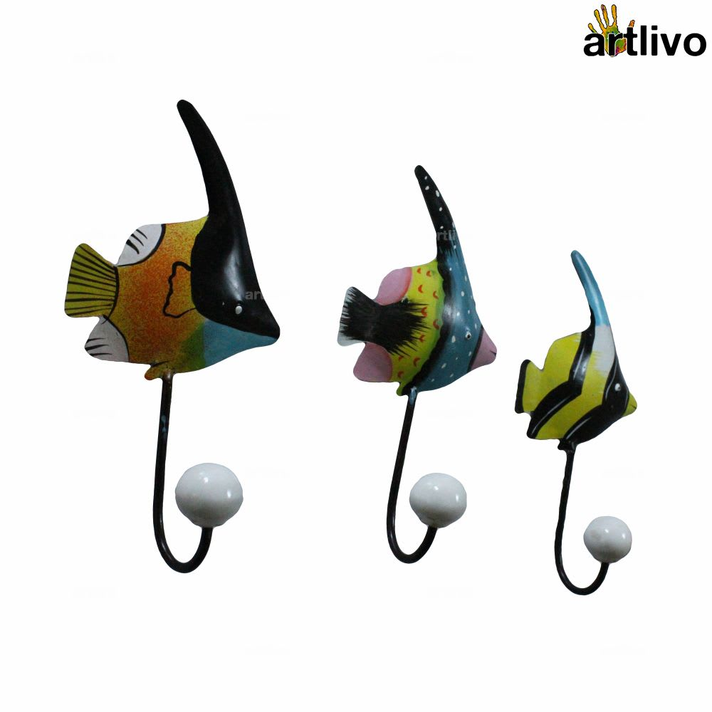 POPART Metal Fish Hook - Set of 3