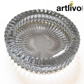 Round ashtray - Glass