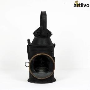 VINTAGE Recycled Railway Signal Lantern