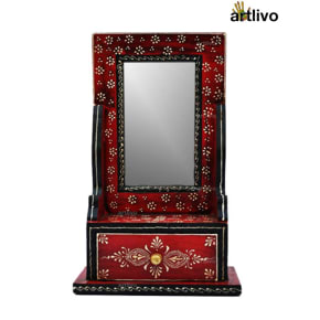 BOLD RED Personal Dresser