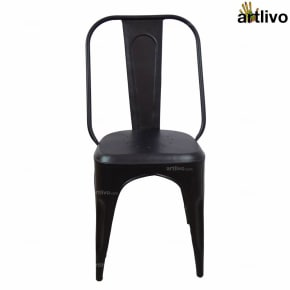 POPART French Black Long Chair